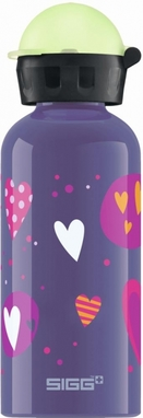 Sigg Trinkflasche Glow Heartballons 0.4l