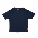 LÄSSIG Splash & Fun Bade-Tshirt Uni blue