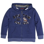 SALT AND PEPPER Boys Sweatjacke Boston blue melange