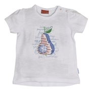 SALT AND PEPPER Girls T-Shirt Birne white