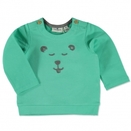 TOM TAILOR Boys Sweatshirt Bärchen Clean Mint