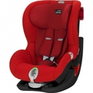 Britax Römer Kindersitz King II LS Black Series Flame Red