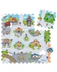 Chicco Puzzlematte CITY in bunt