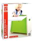 Hape Kinderstuhl EARLY EXPLORER mit Fach in natur/grün