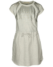 Pepe Jeans Sweat-Kleid DENISA JR in grau melange in Gr. 128