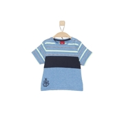 s.Oliver Boys T-Shirt light blue stripes